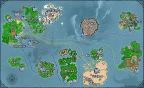 Worlds Map by Tibiame The World