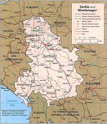 Map Of Serbia Serbia Map Map Of Serbia Serbia Map In English