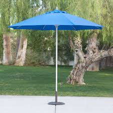 Sunbrella Patio Umbrella Replacement Canopy by Belham Living 9 Ft Wood Commercial Grade Sunbrella Market
