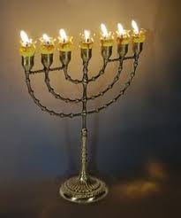 seven branch menorah 7 branch temple menorah winter solstice menorahs