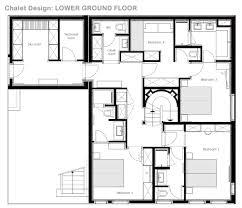 Chalet Floor Plans by Catered Ski Chalet Megeve Chalet Pool U0026 Design Leo Trippi