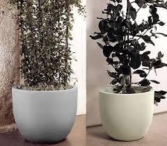 vasi da interno vaso etria doppia parete in resina vasi in resina e in plastica