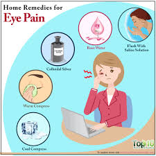 eye pain from light home remedies for eye pain top 10 home remedies