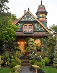 quirky homes show their true colors wsj