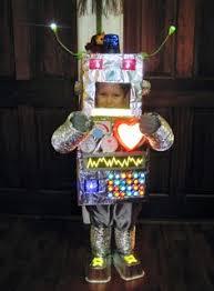 Robot Costume Halloween Coolest Robot Costume U0027jays Robot