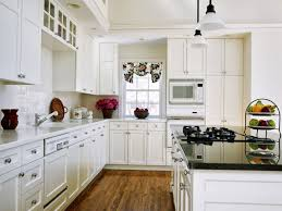 kitchen beautiful neutral white kitchen decor using grey marble