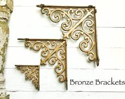 Wooden Shelf Bracket Patterns by Farmhouse Brackets Etsy