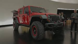 jeep unveils seven new concepts jeep wrangler red rock responder concept photo gallery autoblog