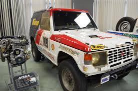 mitsubishi pajero dakar file mitsubishi pajero 1985 paris dakar rally champion in