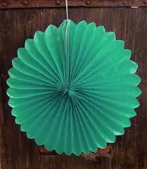 mint green tissue paper 8 cool mint green tissue paper flower rosette fan decoration 6