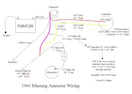 1966 mustang ammeter wiring ford mustang forum