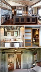 pole barn home interior creative ways to use corrugated metal in interior design barn