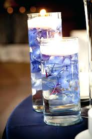water centerpieces led table candles best ideas about water centerpieces on dining