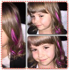Color Hair Extension by Hotheads Hair Extensions On Kids Adds A Lil Pop Of Color Fun
