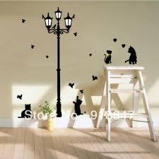 Birds Home Decor Wholesale Big Size 50x70cm Popular Ancient Lamp Cats U0026 Birds Wall