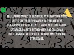 Can Cataracts Cause Blindness What Is The Most Common Cause Of Blindness Youtube