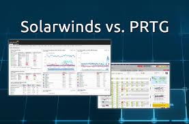 prtg report templates solarwinds vs prtg comparison of network management monitoring