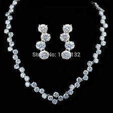 simple diamond sets 2018 cityone new design luxury sapphire blue aaa cz diamond
