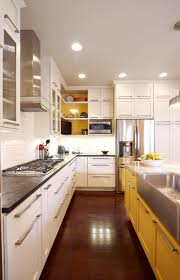 White And Yellow Kitchen How To Bring Color Into A Kitchen Design Colorful Kitchens