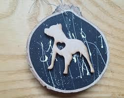 pit bull gift etsy