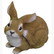 Rabbit Home Decor Squatting Rabbit Ascot Vale Garden Centre