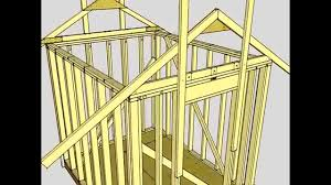 shed 8 x 10 free 8 u0027x10 u0027 shed plans youtube