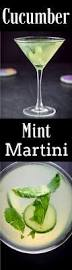 martini sweet exquisitely cool cucumber mint martini dishes delish