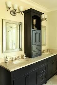 Bathroom Countertop Storage Bathroom Storage Tower Cabinet Foter