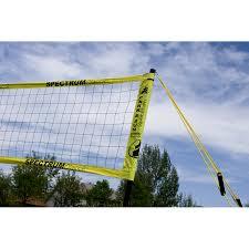 park u0026 sun spectrum classic recreational volleyball set at unique