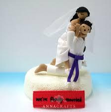 karate cake topper judo ju jitsu custom wedding cake topper decoration gift 170 00