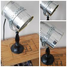tin can lamp recycling aluminium pinterest lights craft tin can lamp recycling
