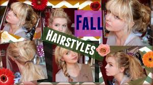 hairstyles with one elastic 6 easy fall hairstyles using one hairtie youtube