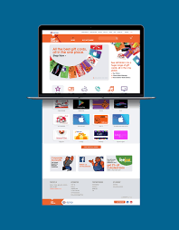 best gift cards giftstation website ux and ui design and development by onfire