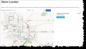 map search directions entity list map view adxstudio community