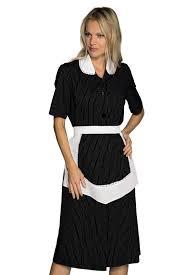blouse femme de chambre blouse femme de chambre manches courtes et tablier noir et blanc