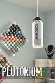 Do It Spray Paint - plutonium can pendant lamp pendant lamps spray painting and sprays