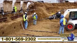 davenport foundation repair concrete lifting leveling basement