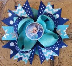 custom hair bows disney princess ariel inspired royal purple by thesadieshop 6 00