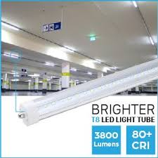 t8 led tube light luminosum t8 led tube light 8ft 45w single pin fa8 base clear