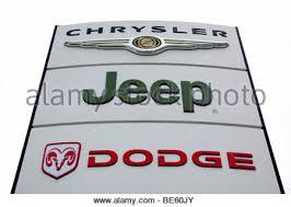is dodge a car brand chrysler jeep dealership sign car maker manufacturer us usa