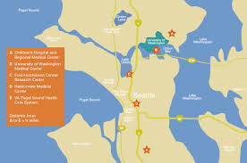 Seattle Map Pdf by Clinical Facilities