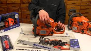 husqvarna 445 chainsaw youtube