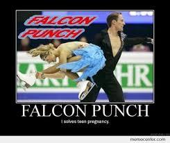 Teen Pregnancy Memes - falcon punch solves teen pregnancy by ben meme center