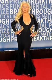 christina aguilera in old hollywood glamour at breakthrough