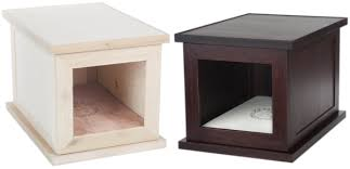 Dog Beds Made Out Of End Tables Zencrate Zencrate The Anti Anxiety Dog Crate