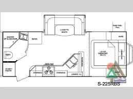 Shadow Cruiser Floor Plans S 195wbs Floor Plan Shadow Cruiser Camping Pinterest Rv