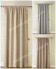 Door Draft Curtain Thermal Lined Door Curtain Ebay