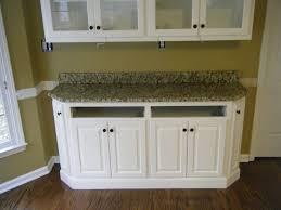 Tan Kitchen Cabinets by Decorating Mocca Kitchen Cabinet With Santa Cecilia Granite