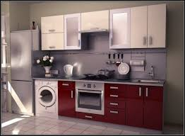Antique Red Kitchen Cabinets by Antique White Kitchen Cabinets With White Appliances Find This