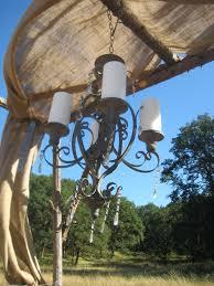 wedding arch log wedding arch chandelier dandelions flowers gifts